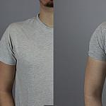 Mangas de camiseta - comparativa en camisetas hombres gris