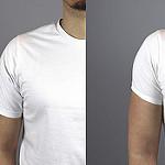 Mangas de camiseta - comparativa en camisetas hombres blancas