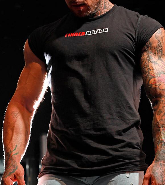 Mangas de camiseta - manga semi corta - camisetas hombre